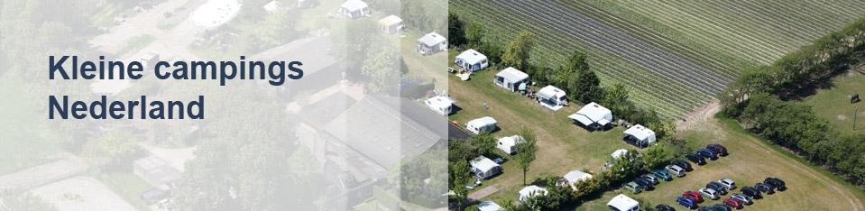 Kleine campings Nederland