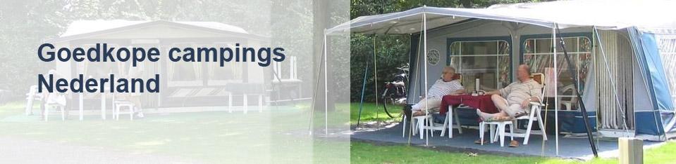 Goedkope campings Nederland